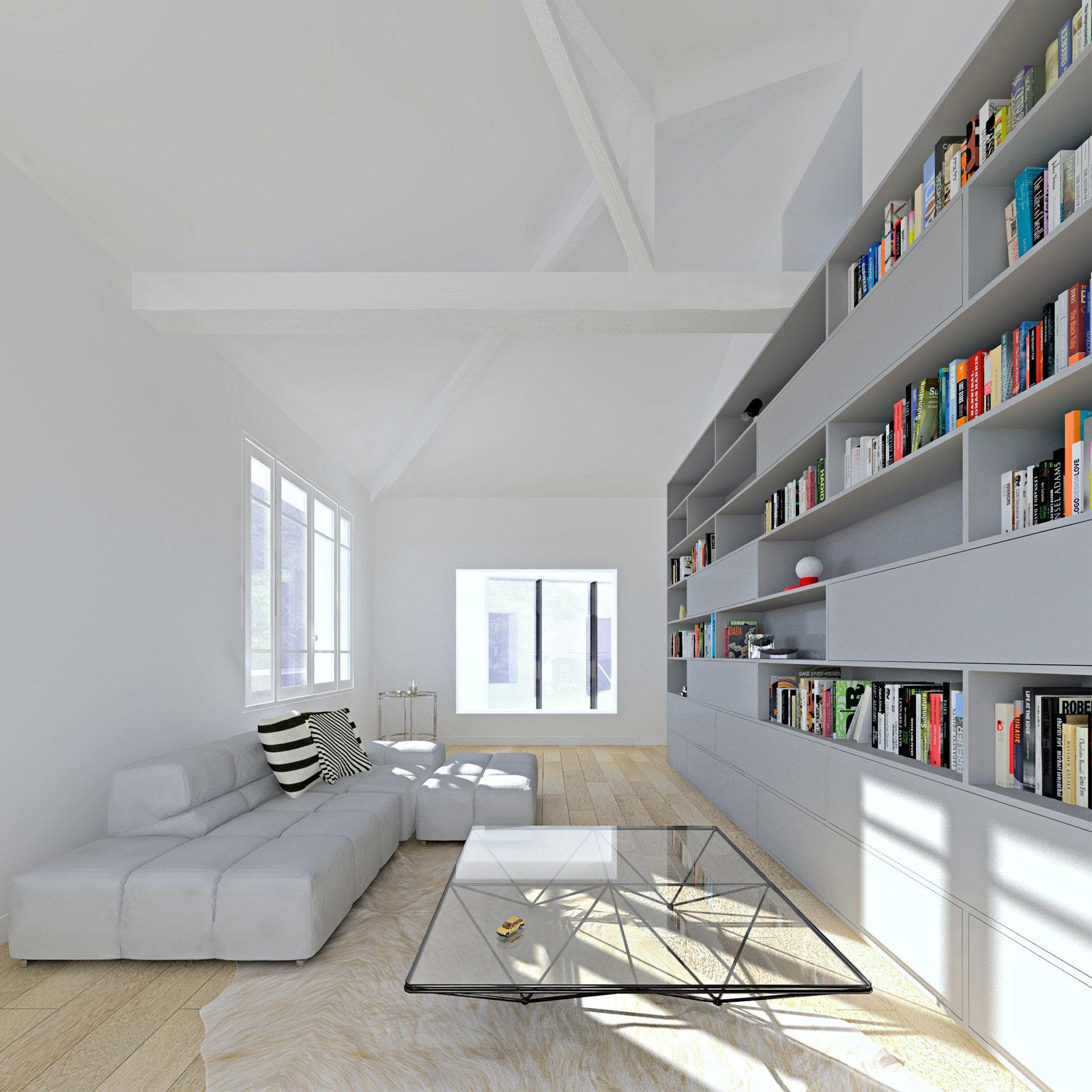 maison TL - heros architecture maison TL extension maison Orsay
