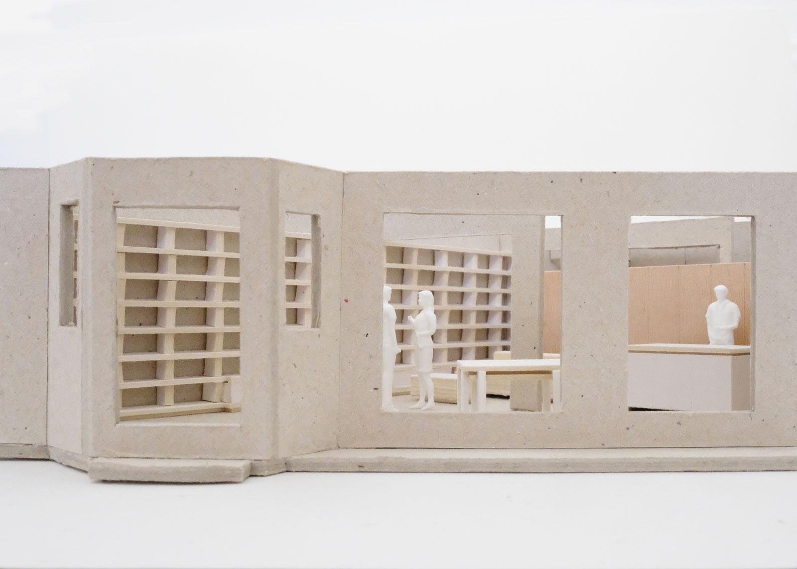 appartement S - heros architecture appartement S maquette