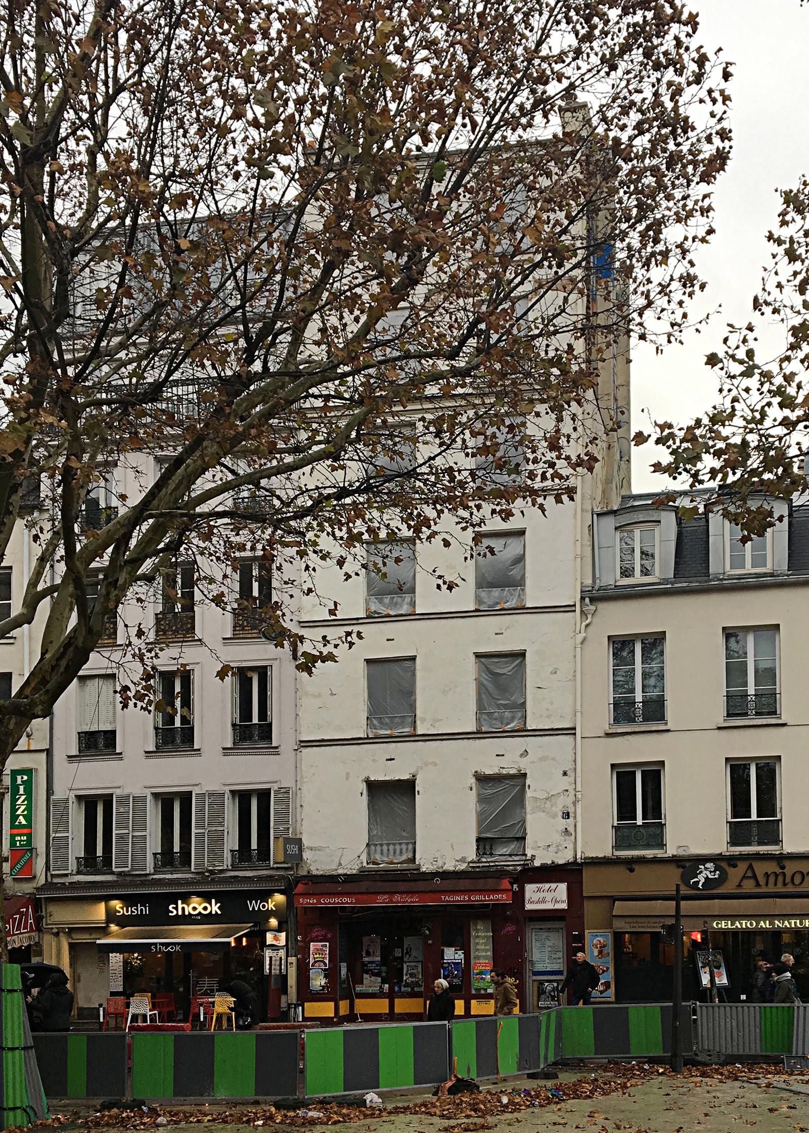 hôtel Opéra Bastille