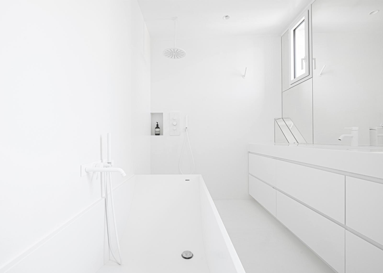 appartement S - heros architecture architecte parisien paris appartement logement rénovation réhabilitation extension restructuration minimaliste design épuré