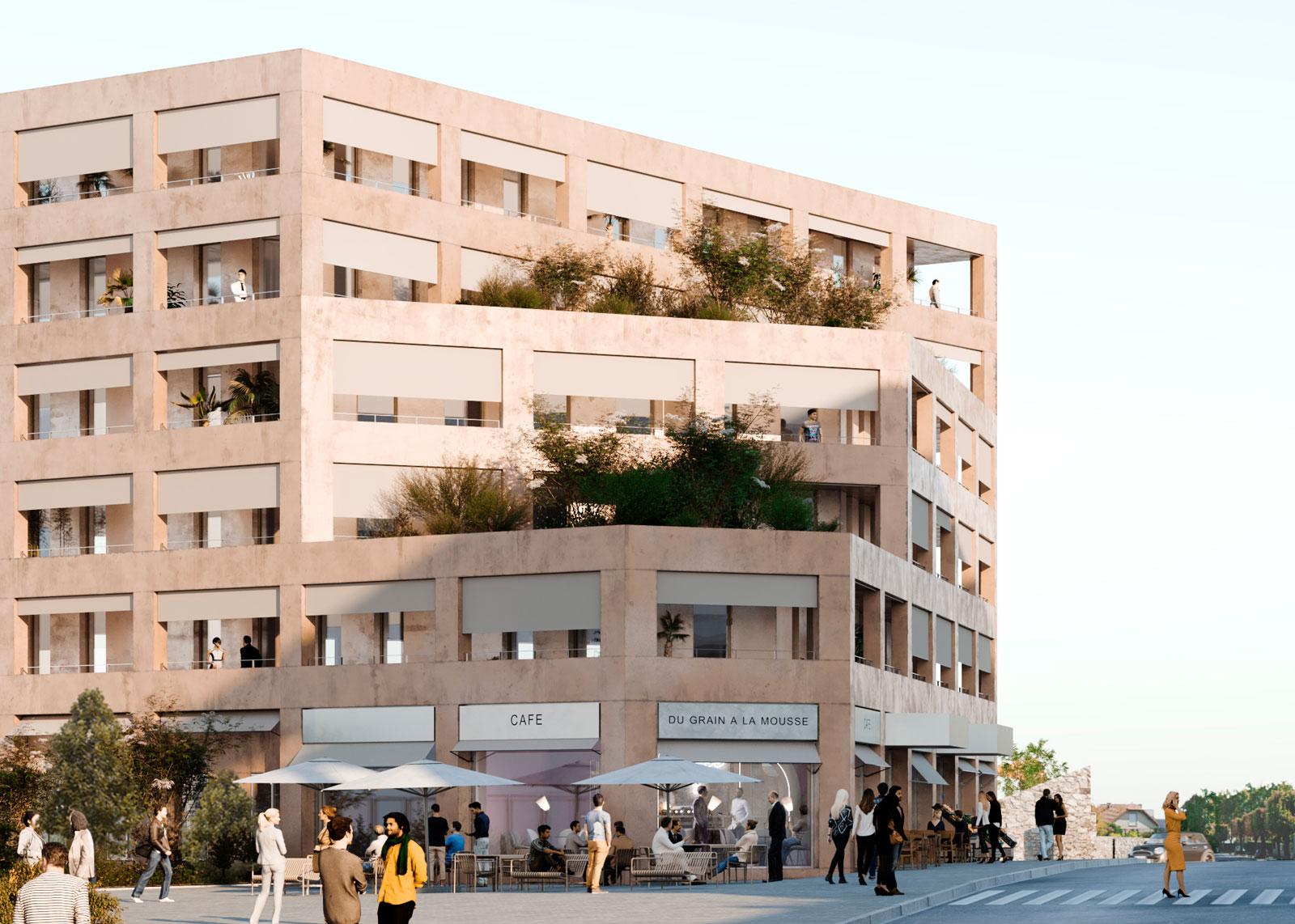 136 logements